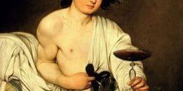 Bacchus Caravaggio 1595 892x1024