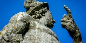 Nymphenburg Statuen Merkur 3